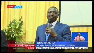 Naibu Rais atoa wito kwa wakenya wawe na amani hasa msimu wa uchaguzi mkuu