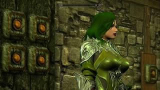 Skyrim (mods) - Jade - Spotlight On: Elven Chainmail Armor UNPB