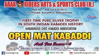 Arab Riders Thuminad | Open Mat Kabaddi | Arab Fest Season 4 | Feb 16