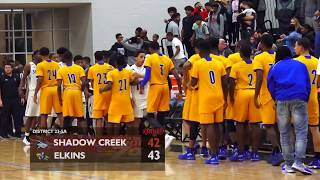 Shadow Creek Sharks vs Elkins Knights 1-26-18