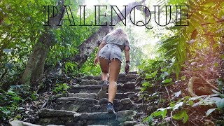 Exploring The Ancient Mayan Ruins Of PALENQUE: Into The Jungle - Chiapas Mexico