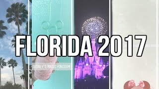 Florida 2017  | First Time at Disney World & Trading Pins