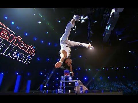 Yosein-chee With A Dangerous Balancing Act | America's Got Talent 2017 | S12 E8