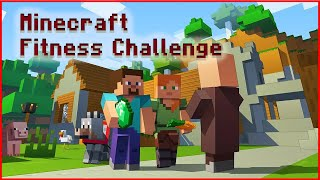 MINECRAFT workout, MINECRAFT exercise for kids and family, MINECRAFT fitness for kids and family