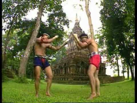 Muay Thai Boran Chaya Fight Demonstration   YouTube