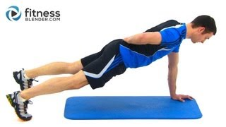 Bodyweight Workout Routine - Nonstop Total Body Workout