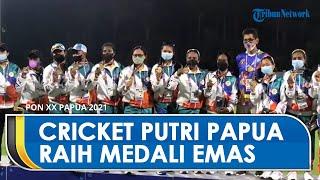 Tim Kriket Putri Papua Berhasil Raih Medali Emas PON XX setelah Kalahkan Tim Bali di Laga Final