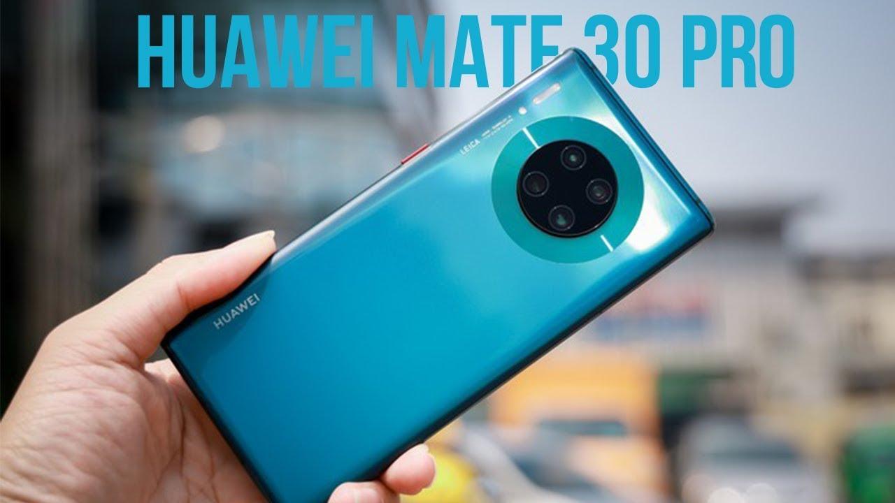 Trên tay Huawei Mate 30 Pro: Chưa có Google Play nhưng màn hình rất đẹp