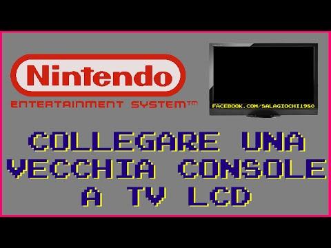 Tutorial - Collegare una vecchia console a Tv Lcd by Sala Giochi 1980