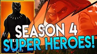 Battle Pass Season 4! SUPERHERO SKINS!! FORTNITE BATTLE ROYALE JUSTICE LEAUGE SKINS LEAKED?!