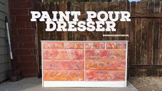 Paint Pour Dresser