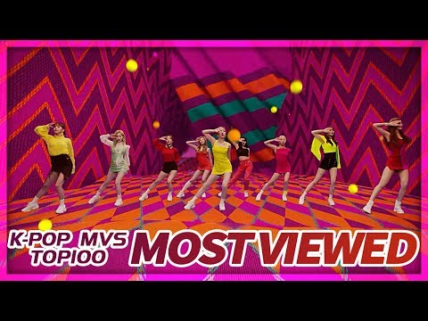 [TOP 100] MOST VIEWED K-POP MUSIC VIDEOS OF ALL TIME  • June 2019