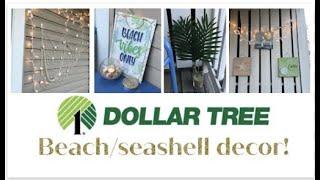 DIY Apartment Balcony Makeover | DOLLAR TREE DECOR | Coastal Decorating Ideas