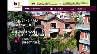 Bungalow on Sale at Hepali Height, Budhanilkantha.
