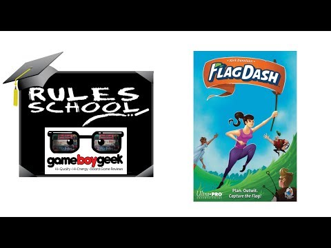 Learn How To Setup & Play Flag Dash (Rules School) with the Game Boy Geek