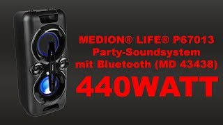 QuickTest - MEDION® LIFE® P67013 Party-Soundsystem