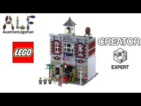 Vidéo LEGO Creator 10197 : La brigade de pompiers