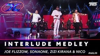Medley - Joe Flizzow, SonaOne, Zizi Kirana, Aman Ra, Juzzthin, Lil J, Balan & Nico | #AJL33