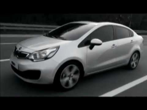Kia Rio Sedan 4 Door Driving Footage