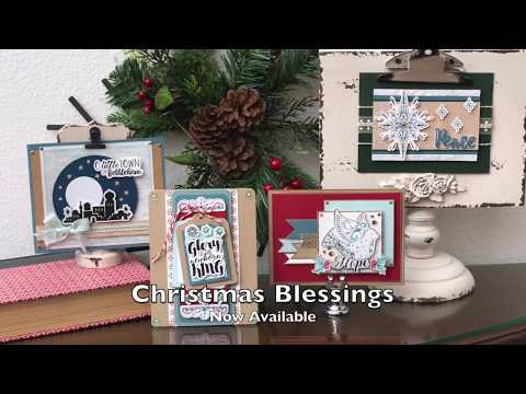 DIY Christmas Blessings with Katelyn Lizardi | Sizzix