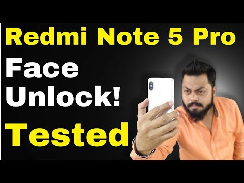 Redmi Note 5 Pro FACE UNLOCK UPDATE TESTED