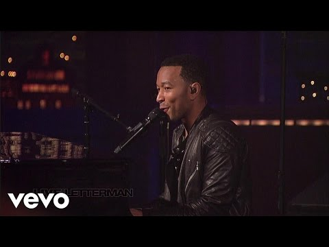 John Legend - Green Light (Live on Letterman)