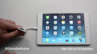 How to Connect an iPad to HDTV or Monitor