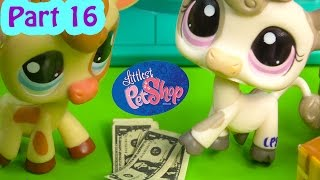 LPS Cookie Money - Kream's Ice Creamery Littlest Pet Shop Part 16 Video Playing Series Cookieswirlc