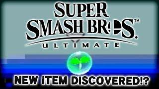 NEW ITEM DISCOVERED!? - Super Smash Bros. Ultimate Item Analysis!