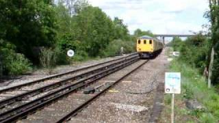 preview picture of video 'DBSO 9701 & 31459 on 1Q12 at Cuxton, 21/05/09'