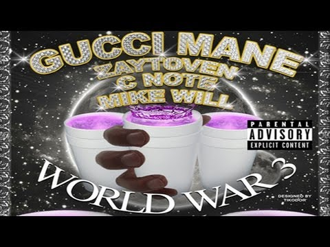 Gucci Mane - Intro (ft. PeeWee & Thug) [World War 3: Lean]