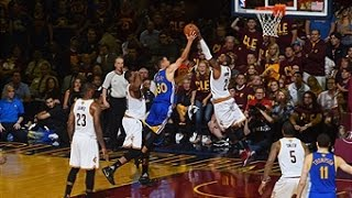 Kyrie Irving Blocks Steph Curry in Game 4! by NBA