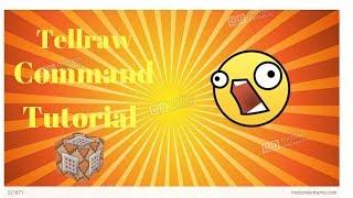 tellraw command mcpe - Kênh video giải trí dành cho thiếu