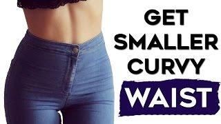 ❤️How To Get A Smaller Waist FAST🏁   4 Exercises To SCULPT A Smaller Waist(Love Handles Melter)