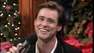 Jim Carrey Sings White Christmas - FUNNY!!