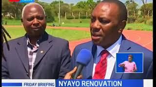 Sports PS Peter Kaberia denies claims that Nyayo Stadium renovations have been abandoned