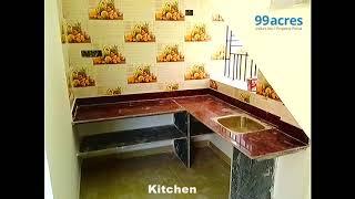 2 Bedroom,  Independent House/Villa in Joka