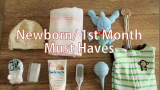 Life With Baby: Newborn & 1st Month Baby Must Haves