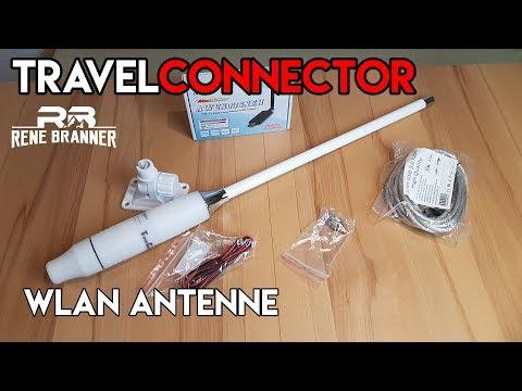 Travelconnector - WLAN Antenne für unterwegs