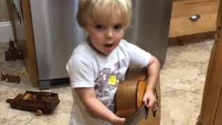 Adorable Youngster Covers Luke Combs