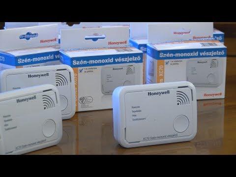 Szén-monoxid jelző átadás - video preview image