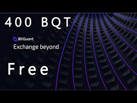 Ganhe 400 BQT na Exchange BitQuant somente preenchendo seu E-mail !!!!! Boraaaa.