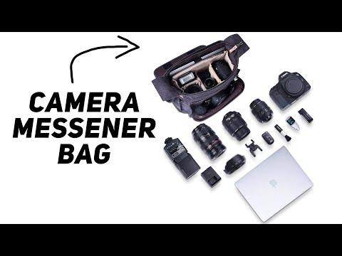 Messenger Camera/Laptop Bag Review   Estarer