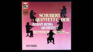Schubert, Quintet In D  956, Heinrich Schiff, Cello ,Alban Berg Quartett, 1,2mov