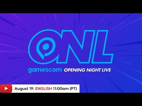Gamescom 2019: Opening Night Live Stream