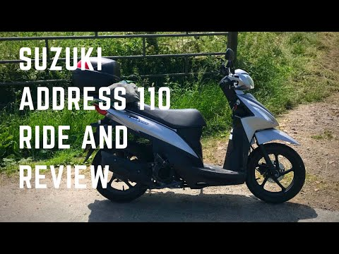 Suzuki Address 110 – Ride and Review – 2018