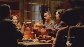 "Касл (Castle), Castle 8x16 Esposito His Family with Ryan and Sonia Scenes ""Heartbreaker"""