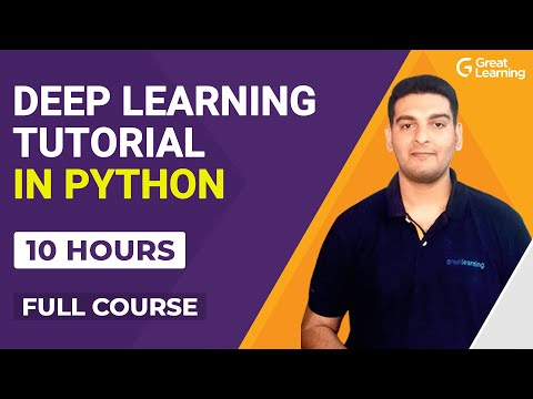 Deep learning Tutorial with Python | Deep Learning Full course ...