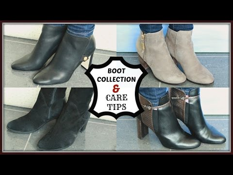 BOOT COLLECTION & CARE TIPS | ELLE FLORENCE #NouvelleFall
