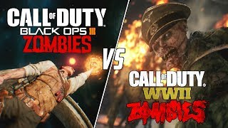 5 MAJOR COD ZOMBIES CHANGES - BLACK OPS 3 VS COD WWII!